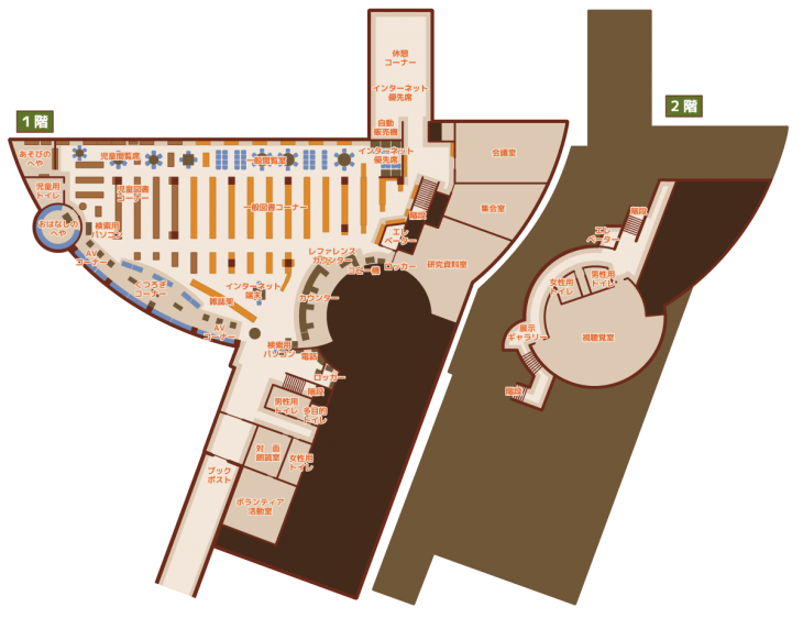 Figure in main building building